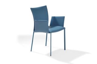 2076-I  Nobile Soft leather with armrests  by  DRAENERT