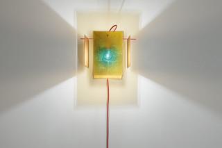 24 Karat Blau wall lamp  by  Ingo Maurer