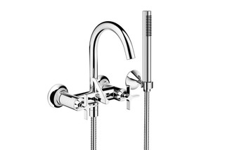 VAIA Bath mixer with hand shower set  by  Dornbracht