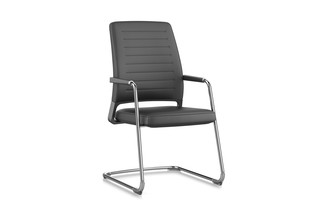 VINTAGEis5 cantilever with high backrest  by  Interstuhl
