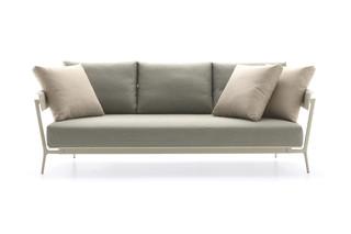 Aikana 3-seater sofa  by  Fast