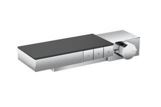 Axor Edge Thermostat for 3 functions for exposed/concealed installation - diamond cut  by  AXOR