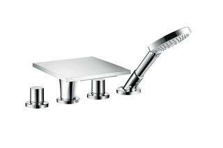 Axor Massaud 4-hole rim mounted bath mixer  by  AXOR