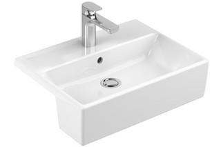 Semi-recessed washbasin Memento  by  Villeroy&Boch Bath&Wellness