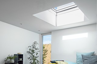 Flat roof window  by  VELUX