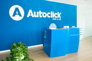 AutoClick Rent a Car 6701. Blue Sky, 1100. Snow White  von  KRION