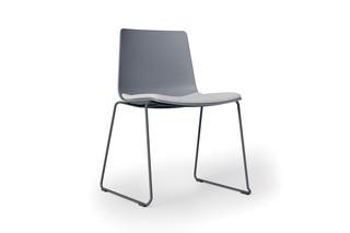 slim chair sledge  by  Alias