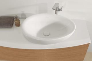 Surface-mounted washbasin Aveo New Generation  by  Villeroy&Boch Bath&Wellness