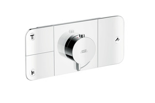 Axor One Thermostatic module for concealed installation, for 3 outlets  by  AXOR