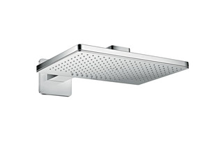 Axor overhead shower 460 / 300 2jet with shower arm and softcube escutcheons  by  AXOR