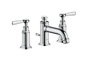 Axor Montreux 3-hole basin mixer 30 with pop-up waste set and lever handles  by  AXOR