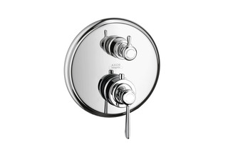 Axor Montreux thermostatic mixer for concealed installation with shut-off valve with lever handle  by  AXOR