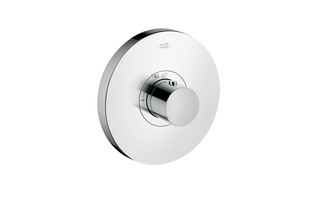 Axor thermostatic mixer highflow Round for concealed installation  by  AXOR