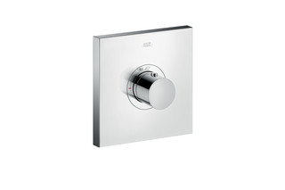 Axor thermostatic mixer highflow Square for concealed installation  by  AXOR