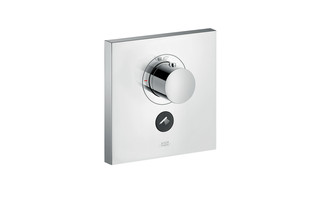 Axor thermostatic mixer highflow Square for 1 outlet and additional outlet for concealed installation  by  AXOR