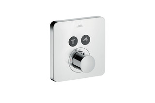 Axor thermostatic mixer Softcube for 2 outlets for concealed installation  by  AXOR