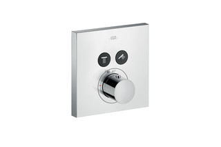 Axor thermostatic mixer Square for 2 outlets for concealed installation  by  AXOR