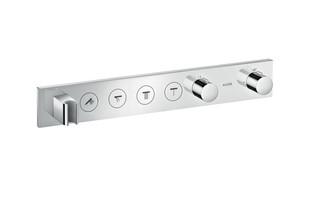 Axor Thermostatmodul Select 600/90 für 4 Verbraucher, Fertigset  von  AXOR