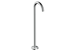 Axor Uno Bath Spout floor-standing, bent  by  AXOR