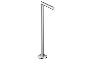 Axor Uno Bath Spout floor-standing, straight  by  AXOR