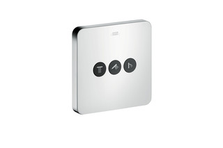 Axor valve Softcube for 3 outlets for concealed installation  by  AXOR