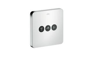 Axor Ventil Softcube für 3 Verbraucher Unterputz  von  AXOR
