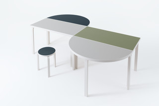 L-Leg table  by  Artek