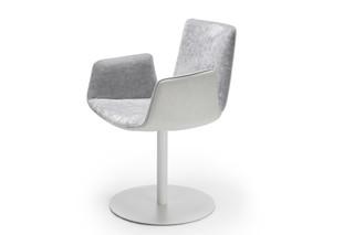 Amelie armchair with central leg  by  Freifrau