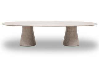 Reverse Conference Lounge Table cement  by  Andreu World