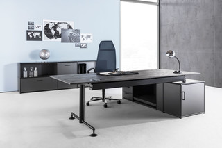 M1-Desk MSM4-ESCH black edition  by  Bosse