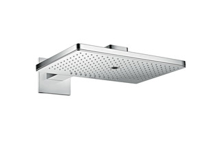 Axor overhead shower 460 / 300 3jet with shower arm and square escutcheons  by  AXOR