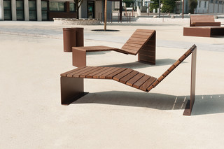 Absolut sun lounger  by  CYRIA