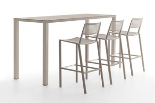 Easy bar stool & bar table  by  Fast