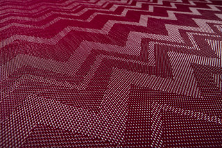 Bolon By Missoni Zigzag Aubergine   von  Bolon