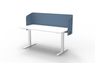 BuzziTripl Wrap Desk  by  BuzziSpace