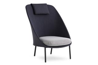 Twins Sessel mit hoher Rückenlehne C171  von  Expormim