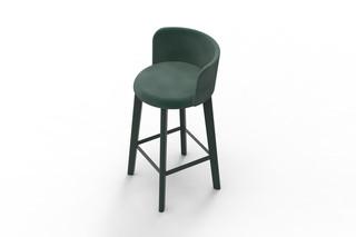 CHAIRMAN bar stool cushion  by  conmoto
