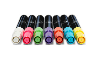 CHAT BOARD® Neon Marker Pens  von  CHAT BOARD