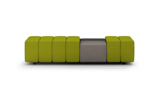 QLQ classic bench with tray table  by  modul21