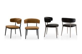 CARATOS Stuhl mit Armlehnen  von  Maxalto