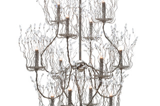 Candles and Spirits Chandelier round  von  Brand van Egmond
