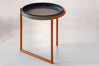 Conduit side table  by  Moroso