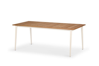 WA dining table 200 teak  by  DEDON