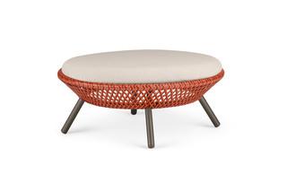 AHNDA footstool  by  DEDON