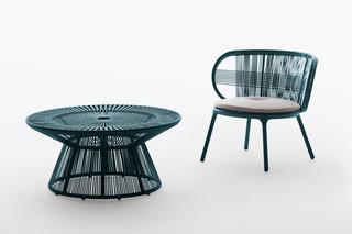 CIRQL coffee tables  by  DEDON