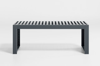DNA outdoor bench  by  Gandia Blasco