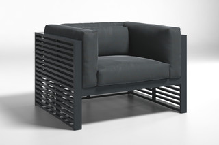 DNA outdoor armchair  by  Gandia Blasco