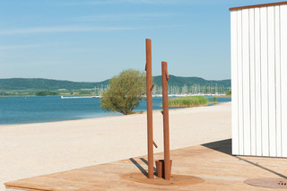 Monsieur outdoor shower  by  CYRIA