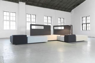 Diagonal sofa  by  Martela