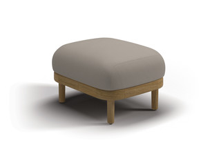 Dune ottoman  by  Gloster Furniture